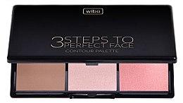 Düfte, Parfümerie und Kosmetik Konturierpalette - Wibo 3 Steps to Perfect