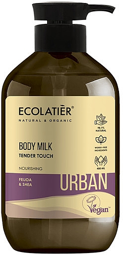 Pflegende Körpermilch mit Feijoa und Shea - Ecolatier Urban Body Milk