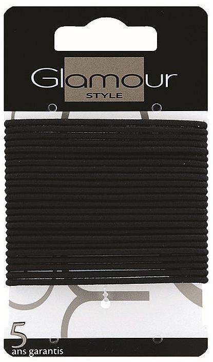 Haargummis 414933 schwarz - Glamour