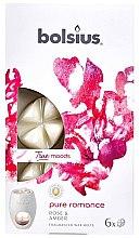 Düfte, Parfümerie und Kosmetik Duftwachs Rose und Bernstein - Bolsius True Moods Pure Romance Rose & Amber