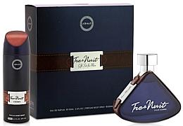 Düfte, Parfümerie und Kosmetik Armaf Tres Nuit - Duftset (Eau de Parfum 100ml + Deospray 200ml)