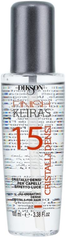 Flüssigkristalle für mehr Haarglanz - Dikson Keiras Finish 15 Cristalli Densi