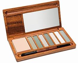 Düfte, Parfümerie und Kosmetik Lidschattenpalette - Alilla Cosmetics Forest Palette