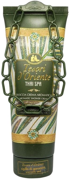 Duschcreme mit Hibiskus und Tamanuöl - Tesori d'Oriente Thai Spa