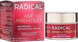 Düfte, Parfümerie und Kosmetik Pflegende Anti-Falten Nachtcreme 50+ - Farmona Radical Age Architect Nourishing Anti Wrinkle Cream