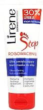 Düfte, Parfümerie und Kosmetik Regenerierende Creme-Maske für die Füße mit 30% Hornstoff - Lirene Stop Callusness Foot Cream-Mask