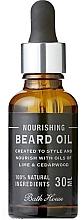 Düfte, Parfümerie und Kosmetik Nährendes Bartöl mit Zedernholz- und Limettenöl - Bath House Citrus Fresh Beard Oil