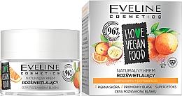 Düfte, Parfümerie und Kosmetik Aufhellende Gesichtscreme mit Camu-Camu und Orange - Eveline I Love Vegan Food Face Kream