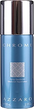 Düfte, Parfümerie und Kosmetik Azzaro Chrome - Deo (Tester)