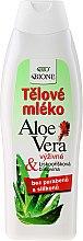 Düfte, Parfümerie und Kosmetik Feuchtigkeitsspendende Körperlotion mit Collagen - Bione Cosmetics Aloe Vera Nourishing Body Lotion With Collagen