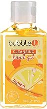 Düfte, Parfümerie und Kosmetik Antibakterielles Handgel Zitrone - Bubble T Cleansing Hand Gel