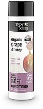 """Düfte, Parfümerie und Kosmetik Sanfte Haarspülung """"Bio-Traube und Honig"""" - Organic Shop Organic Grape and Honey Soft Conditioner"""