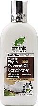 Düfte, Parfümerie und Kosmetik Feuchtigkeitsspendende Haarspülung mit Kokosöl für normales und strapaziertes Haar - Dr. Organic Virgin Coconut Oil Conditioner