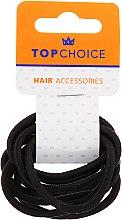 Düfte, Parfümerie und Kosmetik Haargummis schwarz 10 St. 66214 - Top Choice