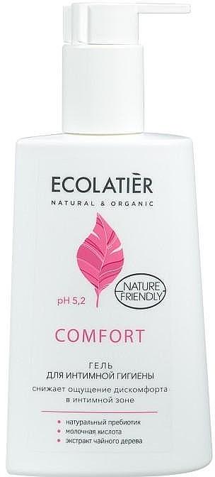 Gel für die Intimhygiene mit Milchsäure und Probiotika - Ecolatier Comfort