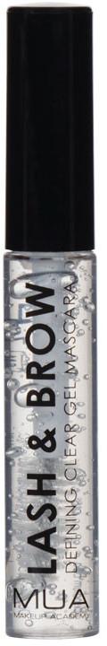 Augenbrauen- und Wimperngel - MUA Lash & Brow Clear Mascara
