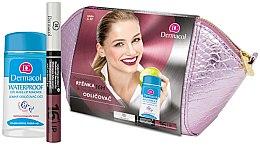 Düfte, Parfümerie und Kosmetik Set - Dermacol (Lippenstift/4,8 g + Make-up Entferner/120ml + Kosmetiktasche)