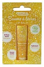 Düfte, Parfümerie und Kosmetik Feuchtigkeitsspendender Lippenbalsam mit Vanille - Namaki