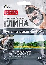 Düfte, Parfümerie und Kosmetik Reinigende, schwarze und vulkanische Tonerde für Körper und Gesicht - Fito Kosmetik