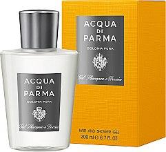 Düfte, Parfümerie und Kosmetik Duschgel - Acqua di Parma Colonia Pura Hair and Shower Gel