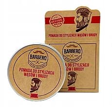 Düfte, Parfümerie und Kosmetik Bart- und Schnurrbartpomade - Barbero Pomade For Beard Styling
