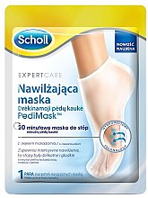 Düfte, Parfümerie und Kosmetik Feuchtigkeitsspendende Fußmaske in Socken mit Macadamiaextrakt - Scholl Expert Care Foot Mask