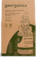 Düfte, Parfümerie und Kosmetik Mundwassertabletten mit Teebaum - Georganics Natural Toothtablets Tea Tree (Refill)