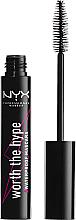 Düfte, Parfümerie und Kosmetik Wasserdichte Wimperntusche - NYX Professional Makeup Worth The Hype Waterproof Mascara