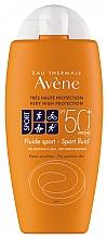 Düfte, Parfümerie und Kosmetik Sonnenschutzfluid für Körper und Gesicht Sport SPF 50+ - Avene Solaire Fluide Sport SPF 50+