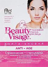 Düfte, Parfümerie und Kosmetik Anti-Age Tuchmaske mit Kollagen - Fito Kosmetik Beauty Visage