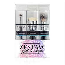 Düfte, Parfümerie und Kosmetik Make-up Pinselset №2 3-tlg. - Neess