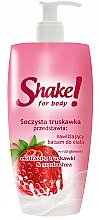Düfte, Parfümerie und Kosmetik Körperlotion mit Erdbeere - Shake for Body Regenerating Body Lotion Strawberry