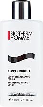 Düfte, Parfümerie und Kosmetik Aufhellende Gesichtslotion mit Peeling-Effekt - Biotherm Homme Excell Bright Brightening Peeling Lotion