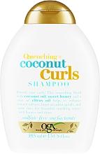 Düfte, Parfümerie und Kosmetik Pflegendes Shampoo für lockiges Haar - OGX Coconut Curls Shampoo