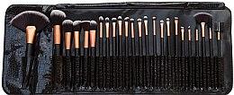 Düfte, Parfümerie und Kosmetik Make-up Pinsel Set, 24 Stk. - Rio Professional Cosmetic Make Up Brush Set