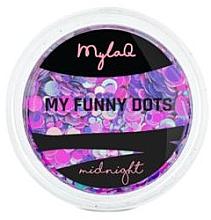 Düfte, Parfümerie und Kosmetik Nageldesign-Pailletten - MylaQ My Funny Dots