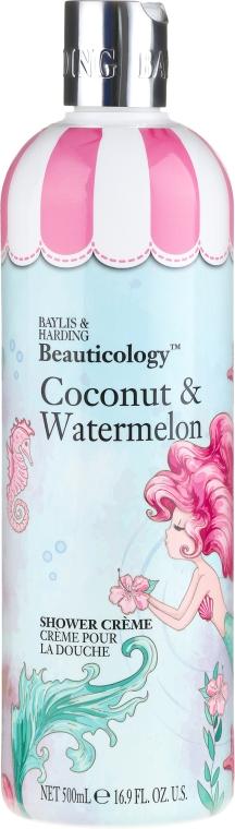 Duschcreme Kokosnuss & Wassermelone - Baylis & Harding Beauticology Mermaid Shower Cream