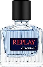 Düfte, Parfümerie und Kosmetik Replay Essential For Him - Eau de Toilette