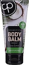 Düfte, Parfümerie und Kosmetik Feuchtigkeitsspendender Körperbalsam mit Kokosöl und Sheabutter - Cosmepick Body Balm Coco & Shea Butter