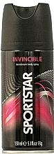 Düfte, Parfümerie und Kosmetik Deospray - Sportstar Deo Body Spray Invicible