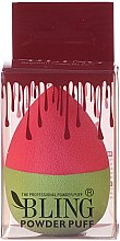 Düfte, Parfümerie und Kosmetik Make-up Schwamm rosa-grün - Bling Powder Puff