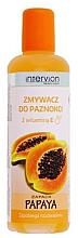 Düfte, Parfümerie und Kosmetik Nagellackentferner mit Papayaduft und Vitamin E - Inter-Vion