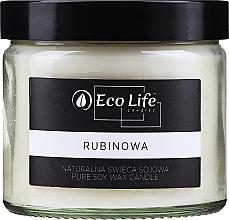 Düfte, Parfümerie und Kosmetik Soja-Duftkerze Ruby - Eco Life Candles