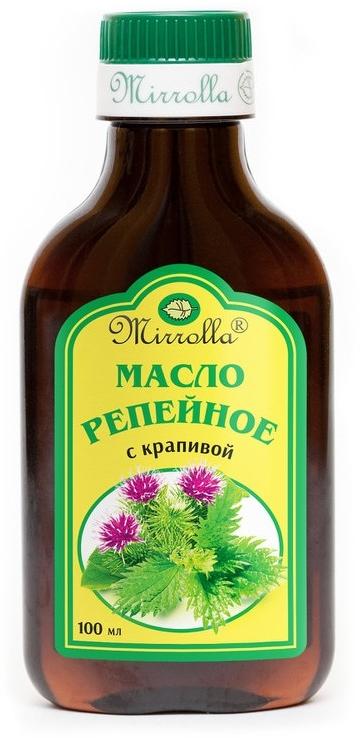 Klettenöl mit Brennnessel - Mirrolla