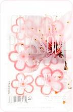 Düfte, Parfümerie und Kosmetik Feuchtigkeitsspendende und beruhigende Tuchmaske für das Gesicht mit Kirschblüten-Extrakt - Kocostar Cherry Blossom Slice Mask Sheet