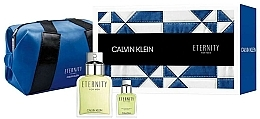 Düfte, Parfümerie und Kosmetik Calvin Klein Eternity For Men - Duftset (Eau de Toilette 100ml+Eau de Toilette 15ml+Kosmetiktasche)