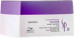 Düfte, Parfümerie und Kosmetik Volumenmaske für feines Haar - Wella Professionals Wella SP Volumize Mask