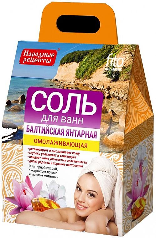 Verjüngendes Badesalz mit baltischem Bernstein - Fito Kosmetik