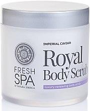 Glättendes Körperpeeling - Natura Siberica Fresh Spa Imperial Caviar Royal Body Scrub — Bild N2