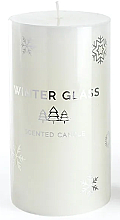 Düfte, Parfümerie und Kosmetik Duftkerze weiß 7x8 cm - Artman Winter Glass